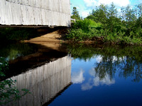 REFLECTIONS and COVERED BRIDGES